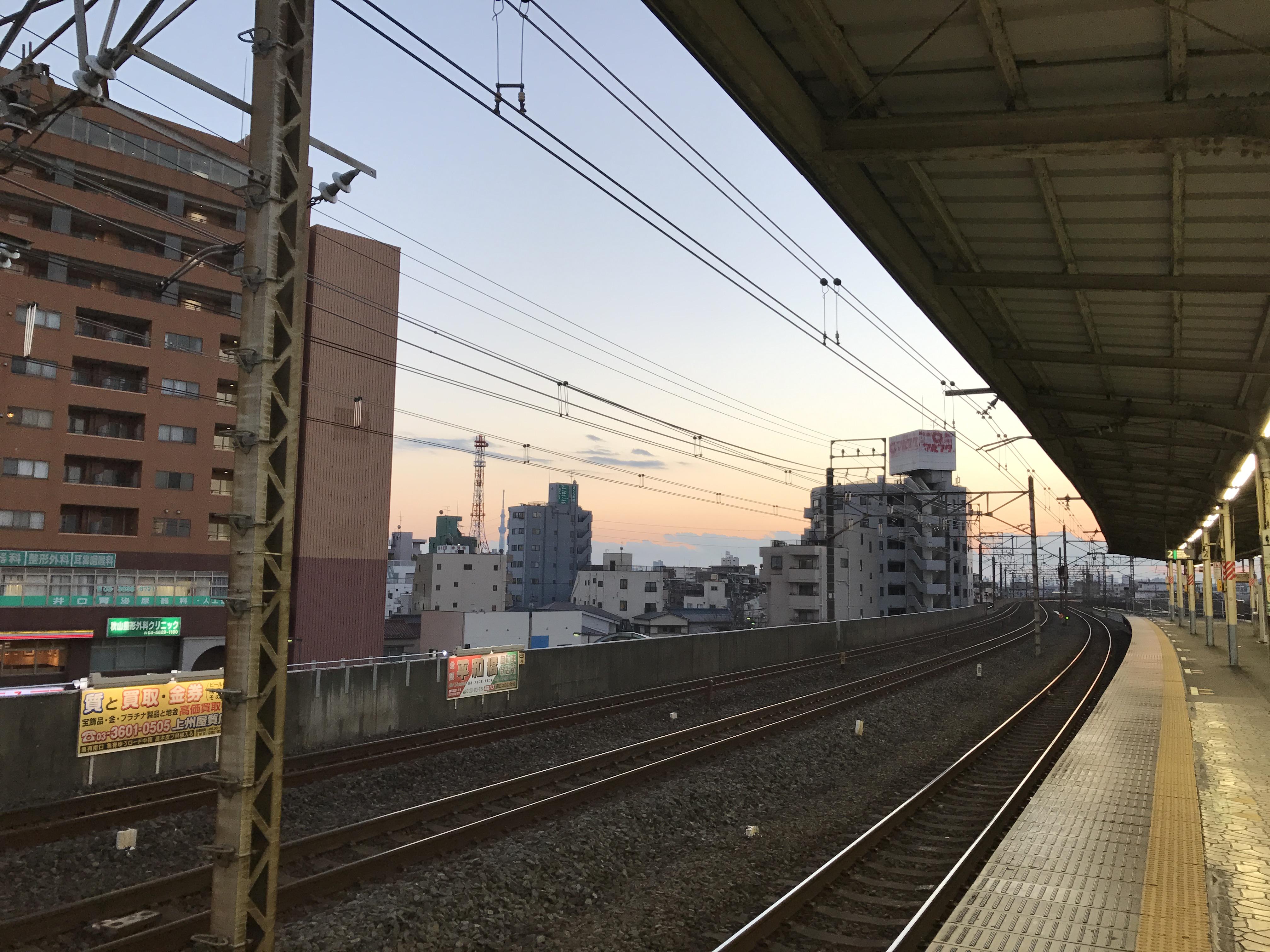 亀戸駅20170103