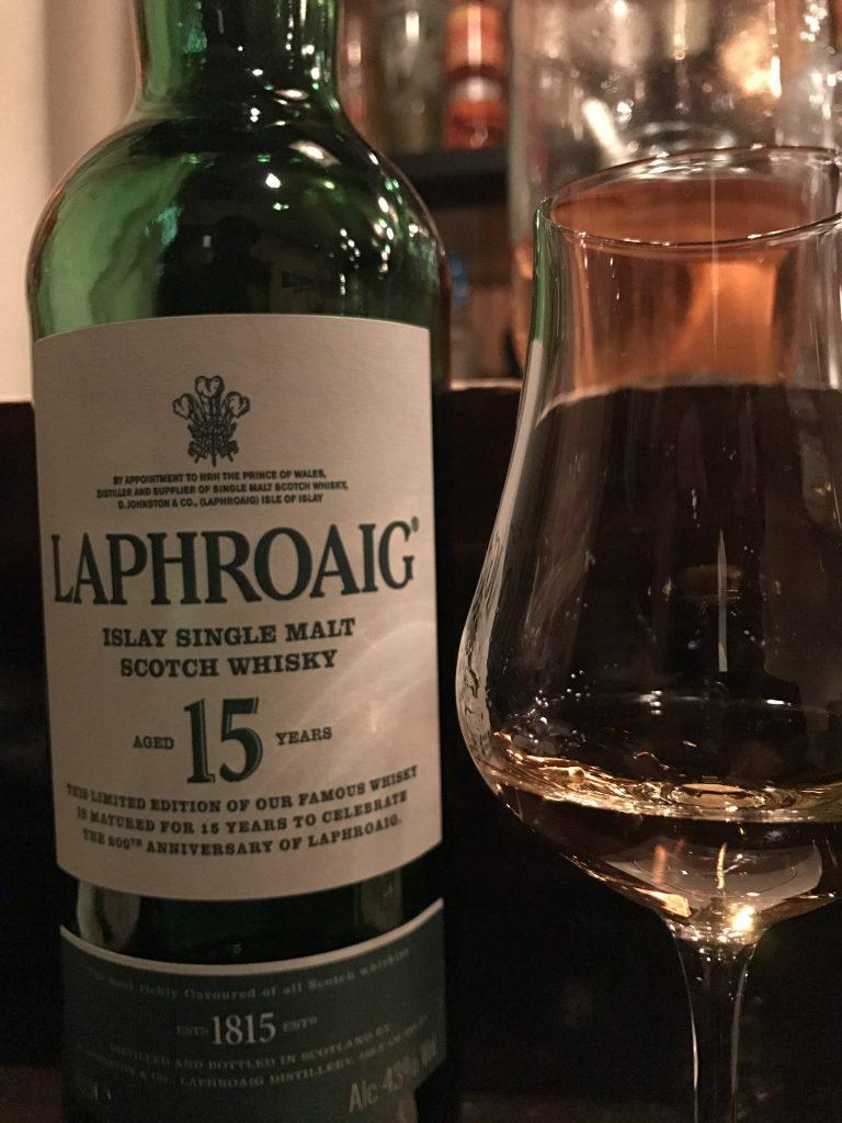 ラフロイグ15y 200周年記念ボトル
