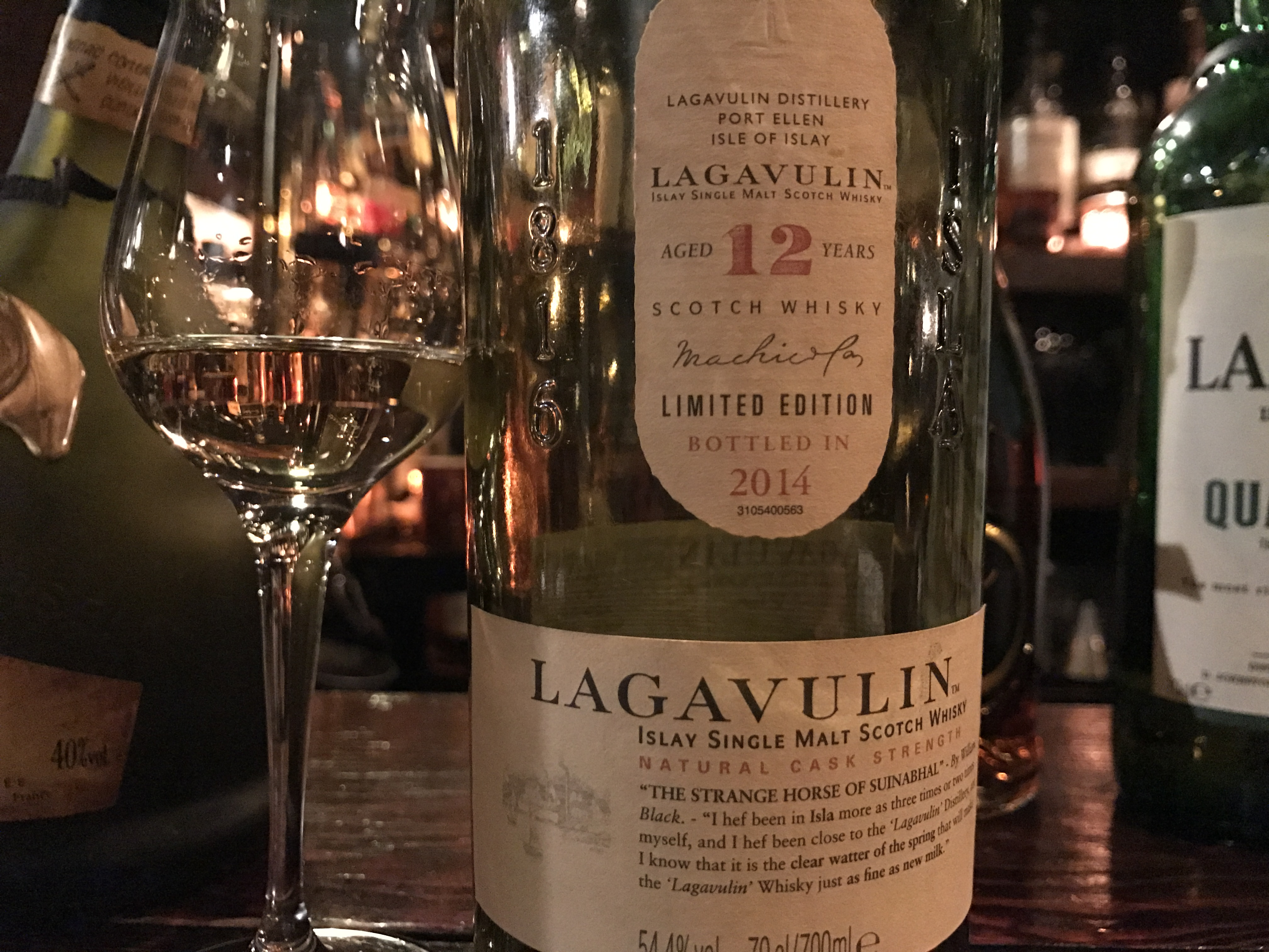 ラガヴーリン12 カスクストレングス