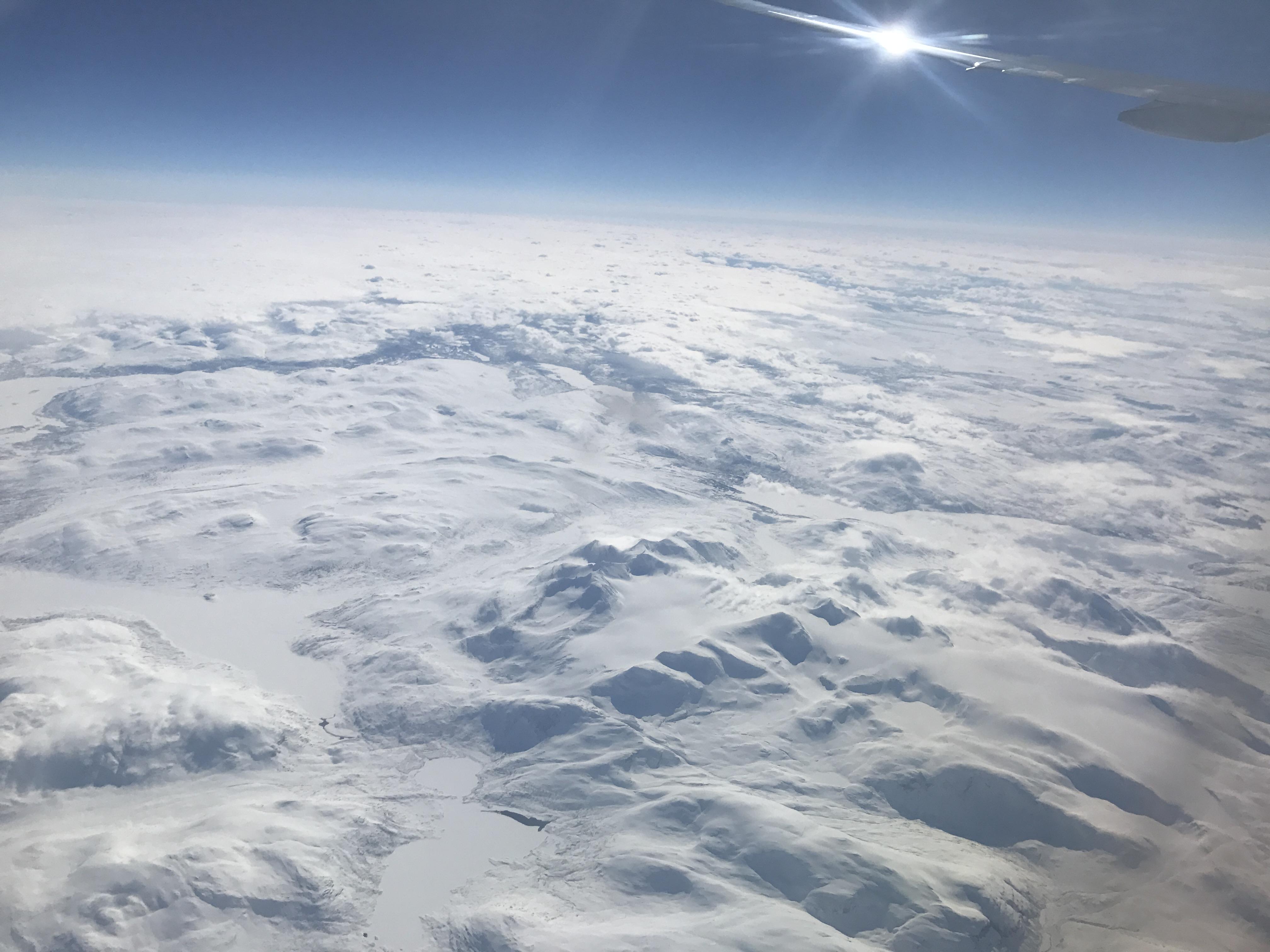 BA-008 北欧の上空