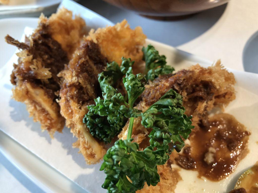 元祖宇味屋のフライ餃子