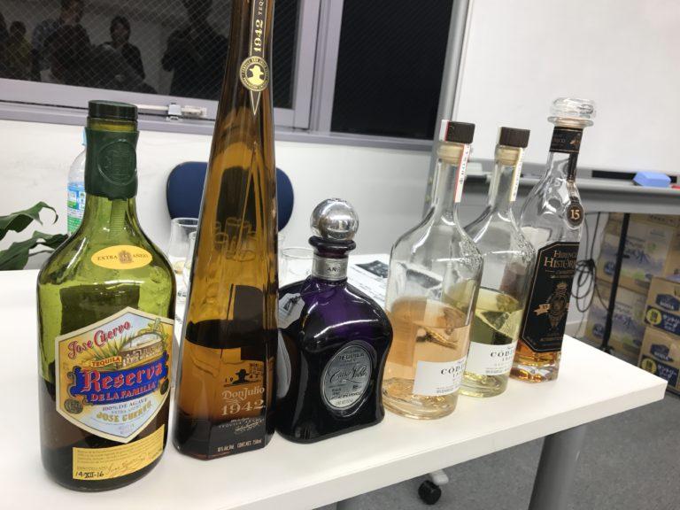 テキーラの樽熟成セミナー ウイスキー文化研究所
