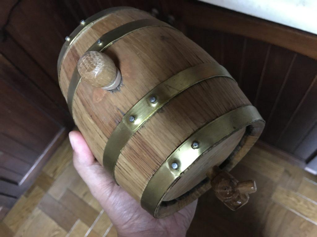 ウイスキー用ミニ樽