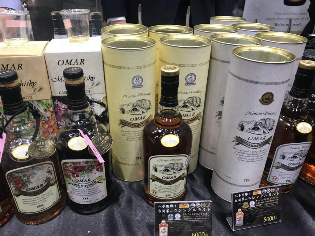 ウイスキーフェスティバル東京 台湾OMAR