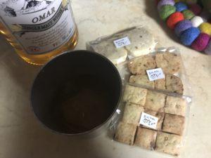 おかしやのん クッキーとウイスキー