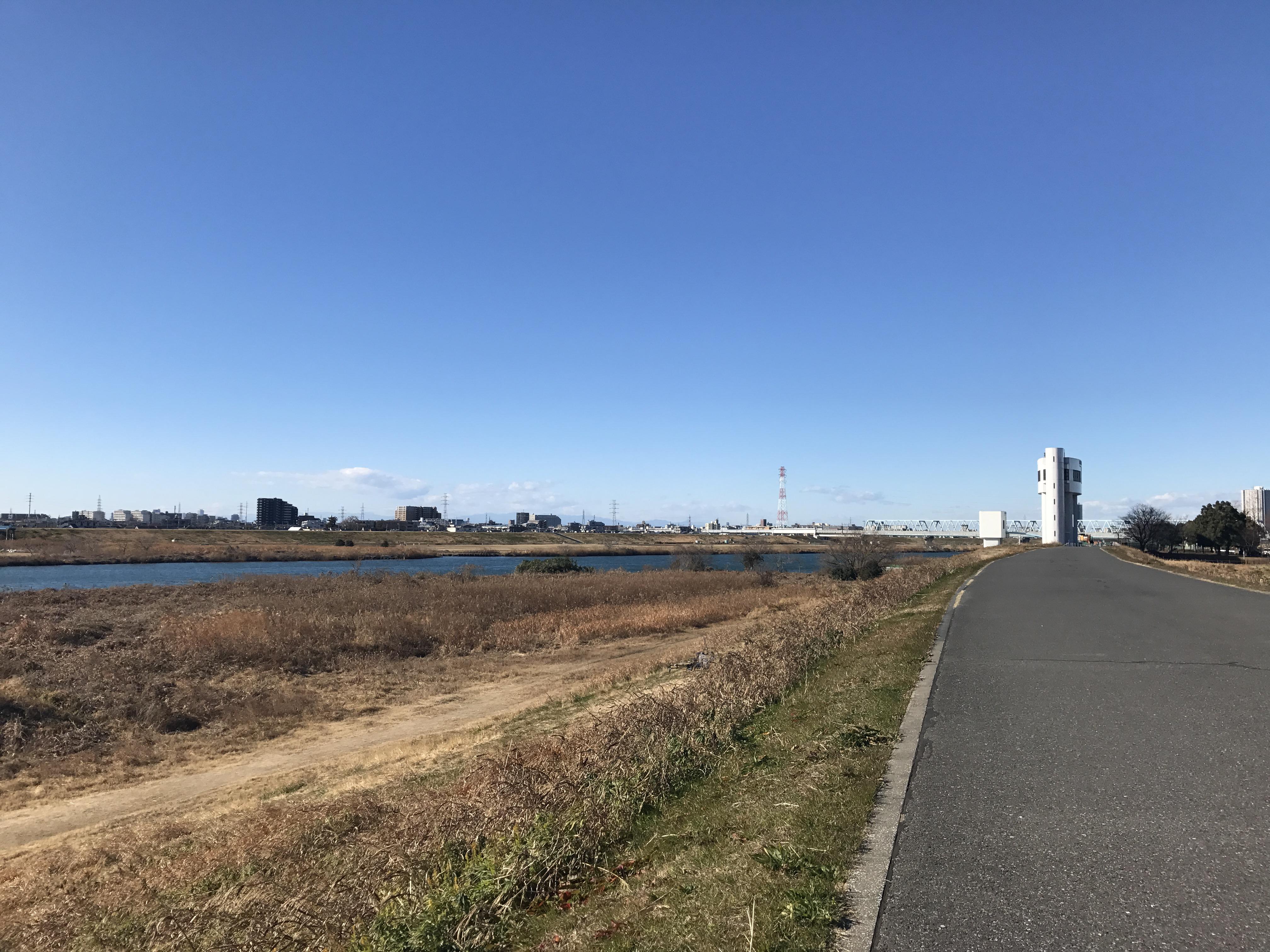 江戸川河川敷