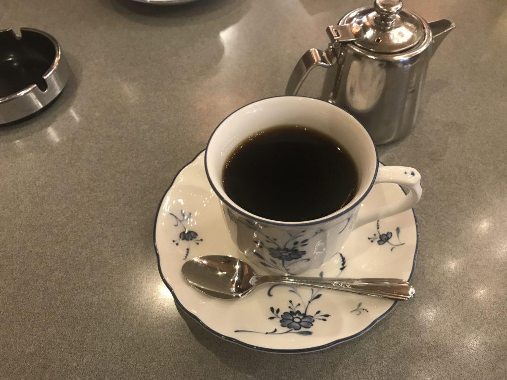 上野ギャランのコーヒー