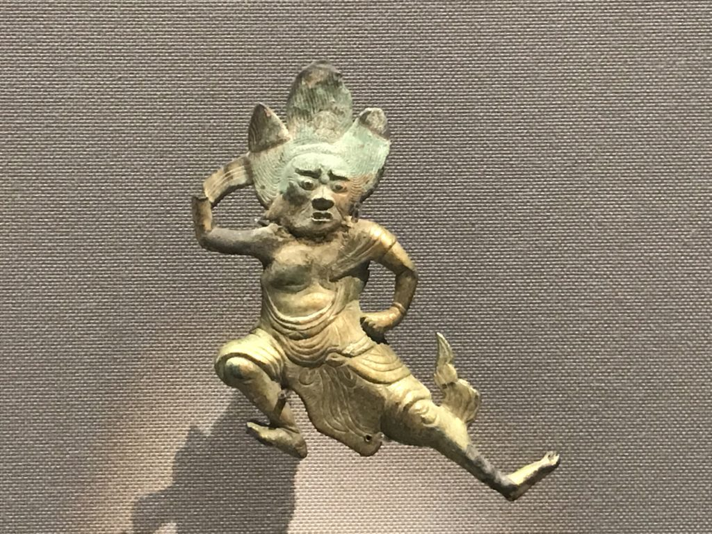 東京国立博物館「押出蔵王権現像」