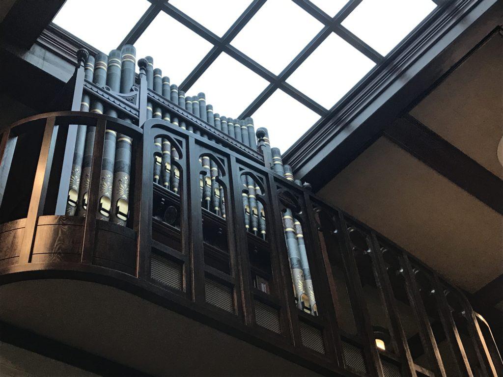 文京区 本郷中央教会のパイプオルガン