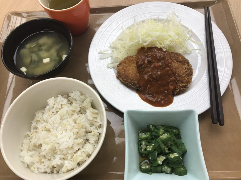 ササミチーズカツ(東大本郷中央食堂)