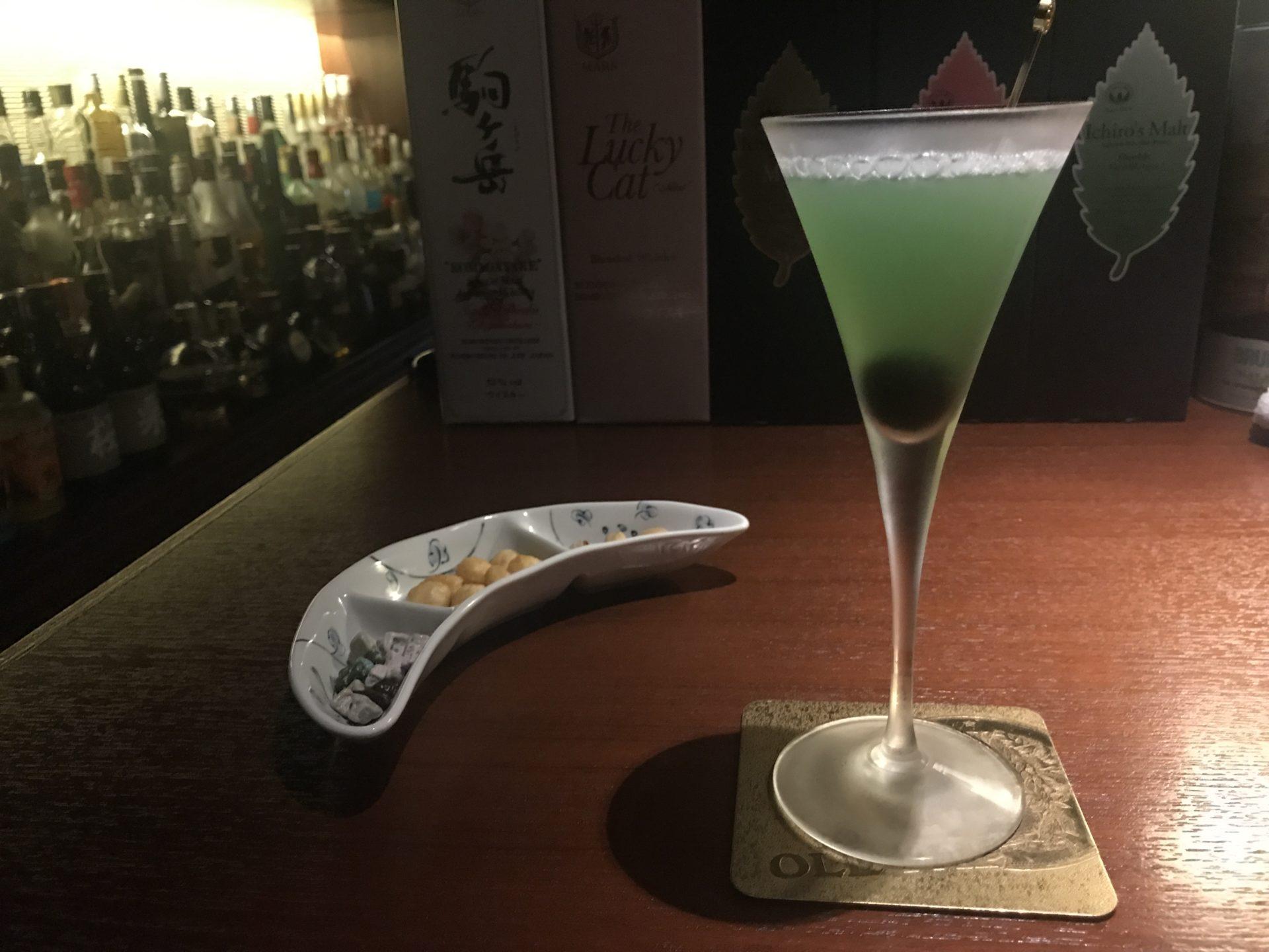 松本のバー OLD PALのマツモトカクテル
