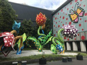 松本市美術館の草間彌生展