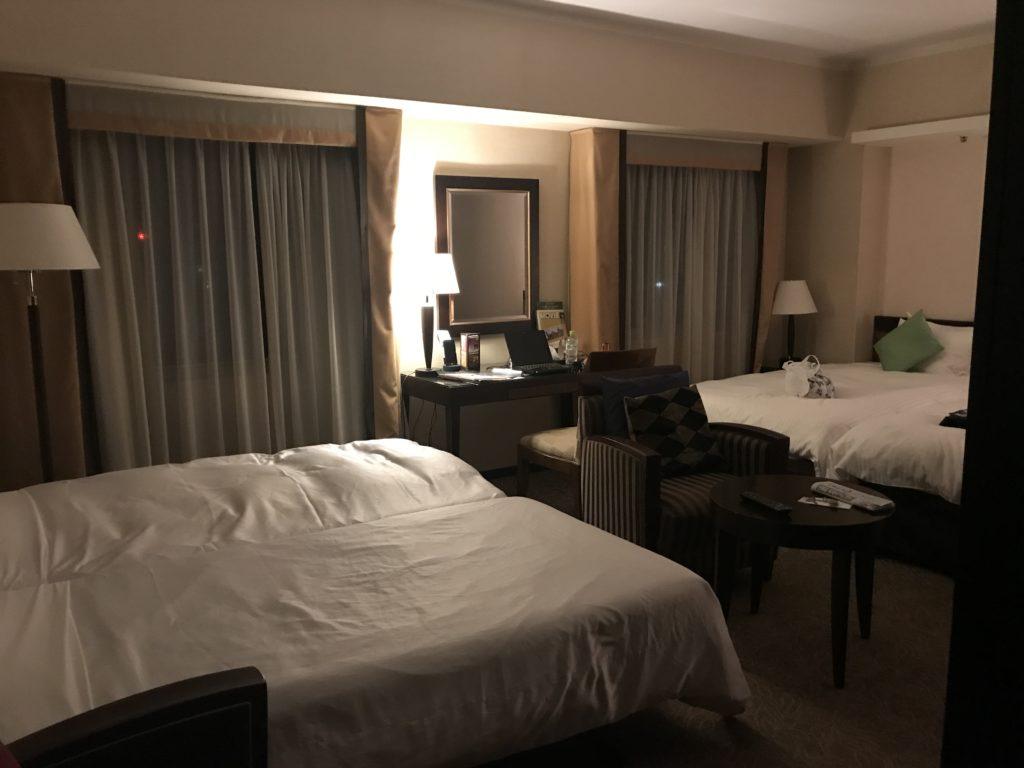 金沢ニューグランドホテル 4人部屋