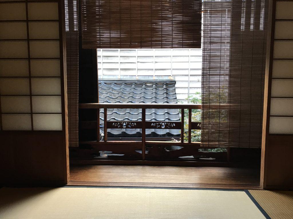ひがし茶屋街「志摩」室内