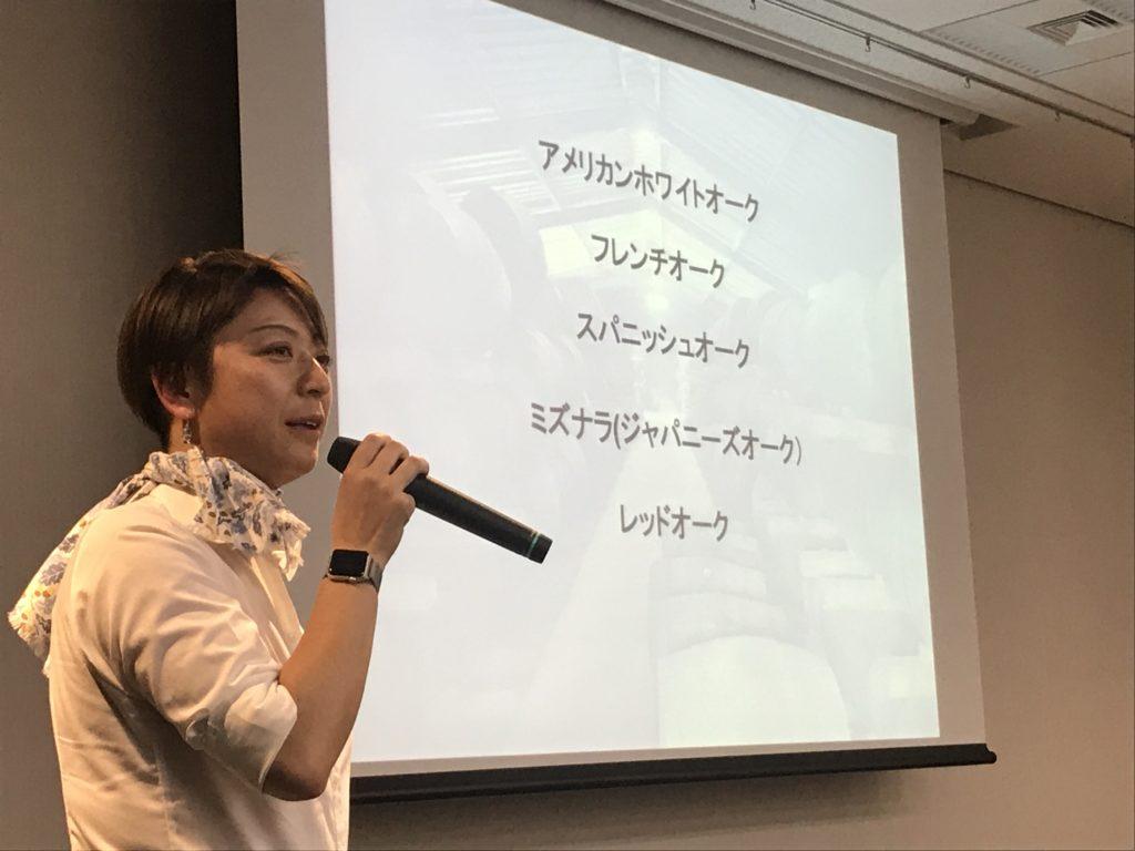 イチローズモルトのブランドアンバサダー、吉川由美さん