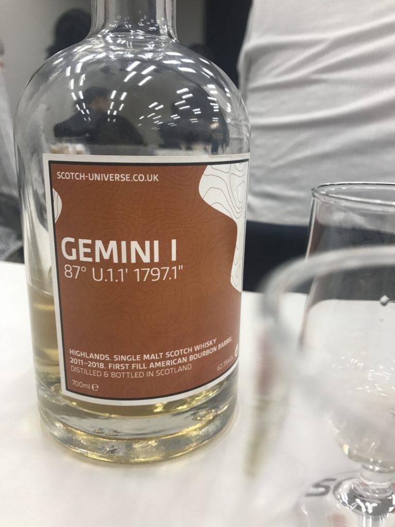 スコッチユニバース「ジェミニ」