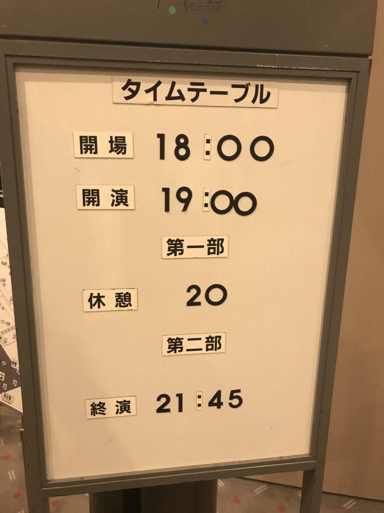 キング・クリムゾン2018日本ツアー 2部構成