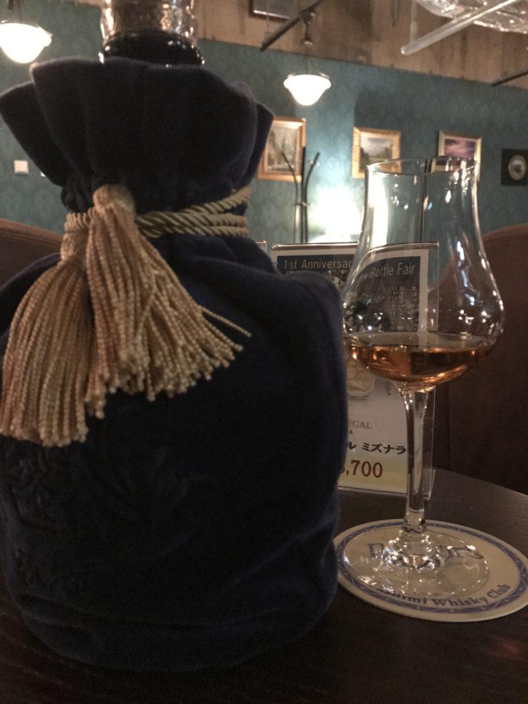 伏見ウヰスキー倶楽部でスコッチ