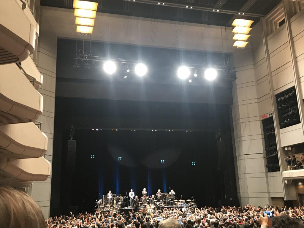 キング・クリムゾン2018ジャパン・ツアー オーチャードホール