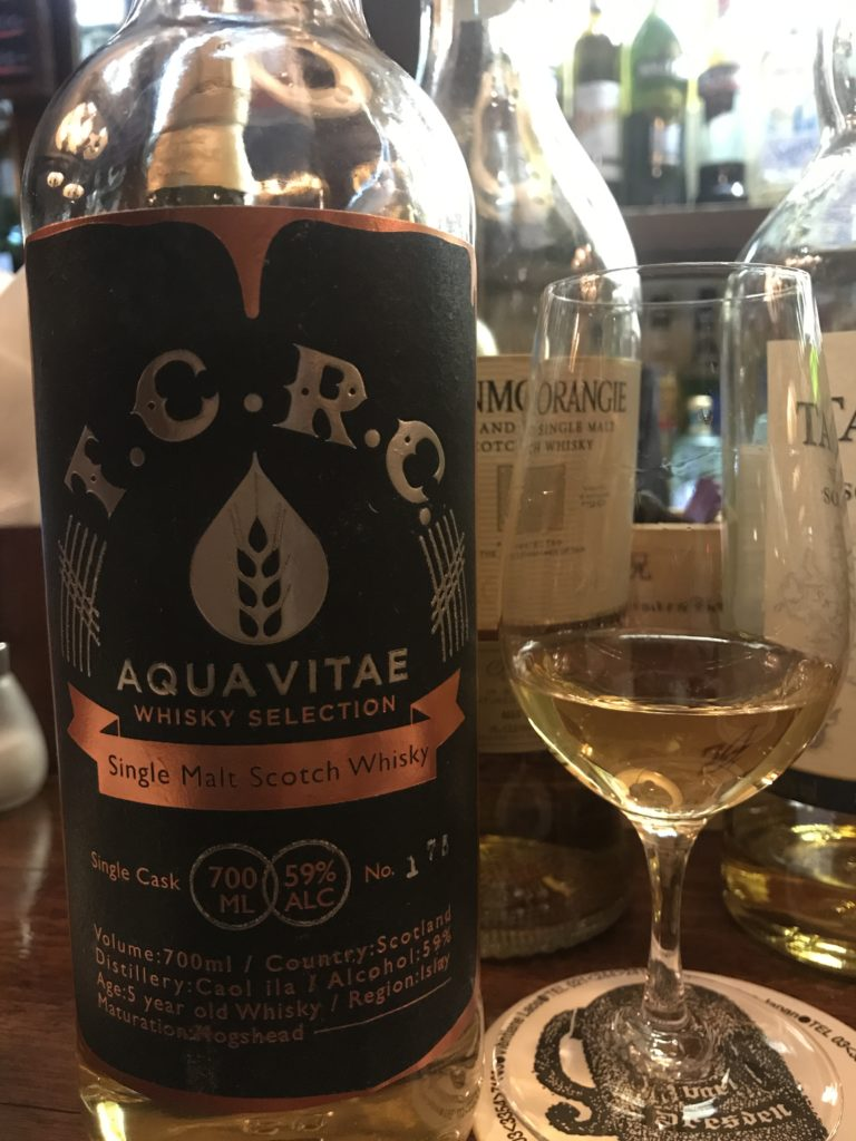 アクアヴィテ ウイスキーセレクション カリラ5y Bar TCRC ジョイントボトル