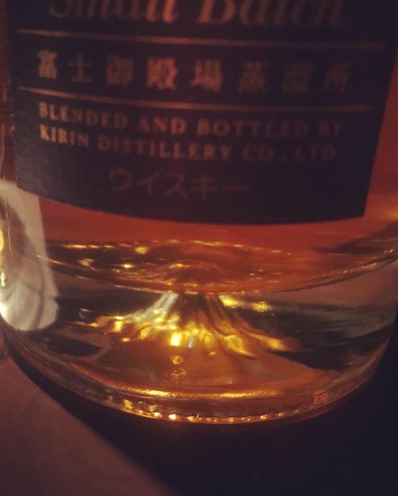 瓶底の富士山 富士山麓18年