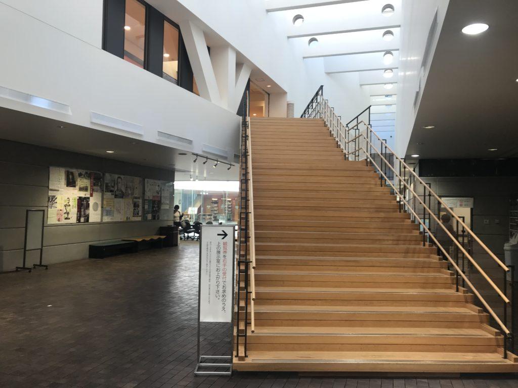仙台文学館の内部