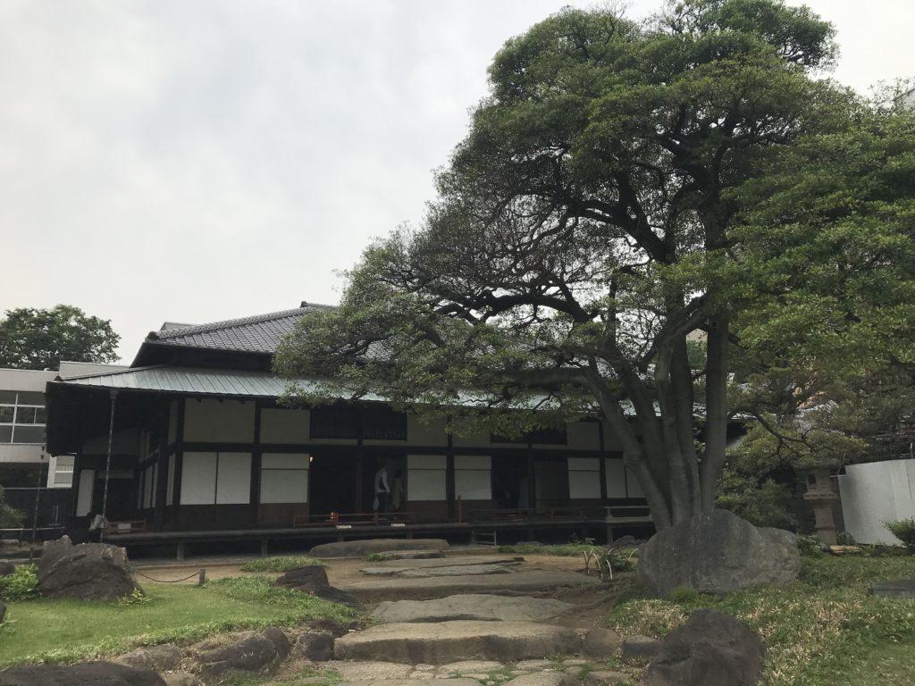 旧岩崎邸庭園の和館