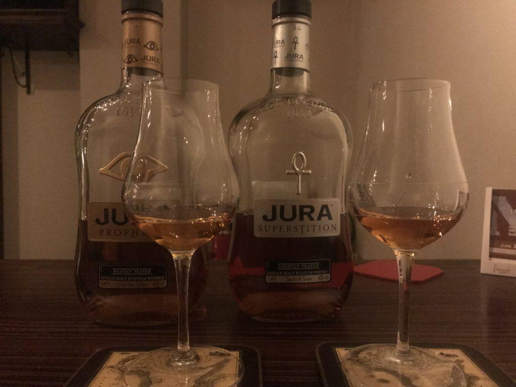 ジュラ スーパースティションとプロフェシーを飲み比べ