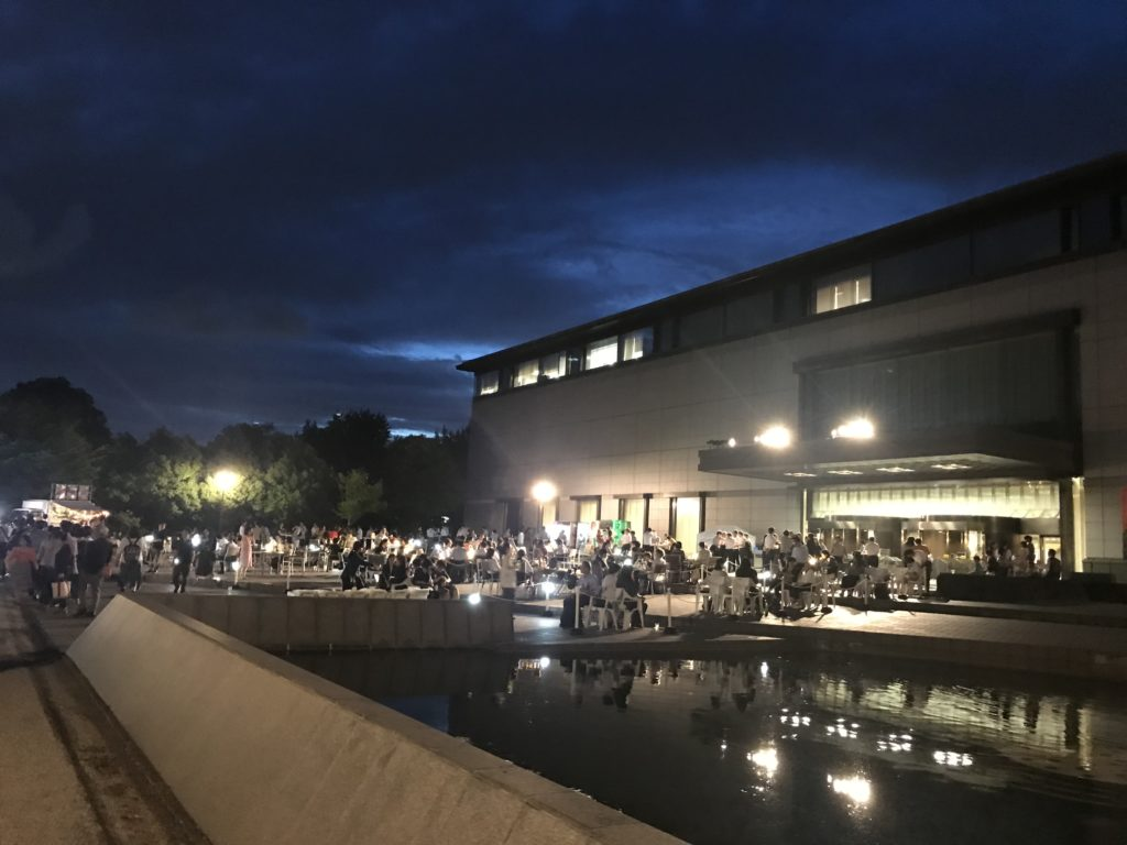 「トーハク BEER NIGHT!」東京国立博物館平成館前庭