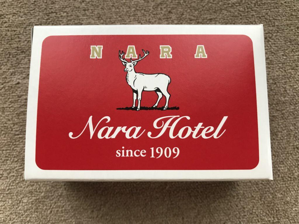 奈良ホテル創業110周年牛乳石鹸コラボ(鹿)