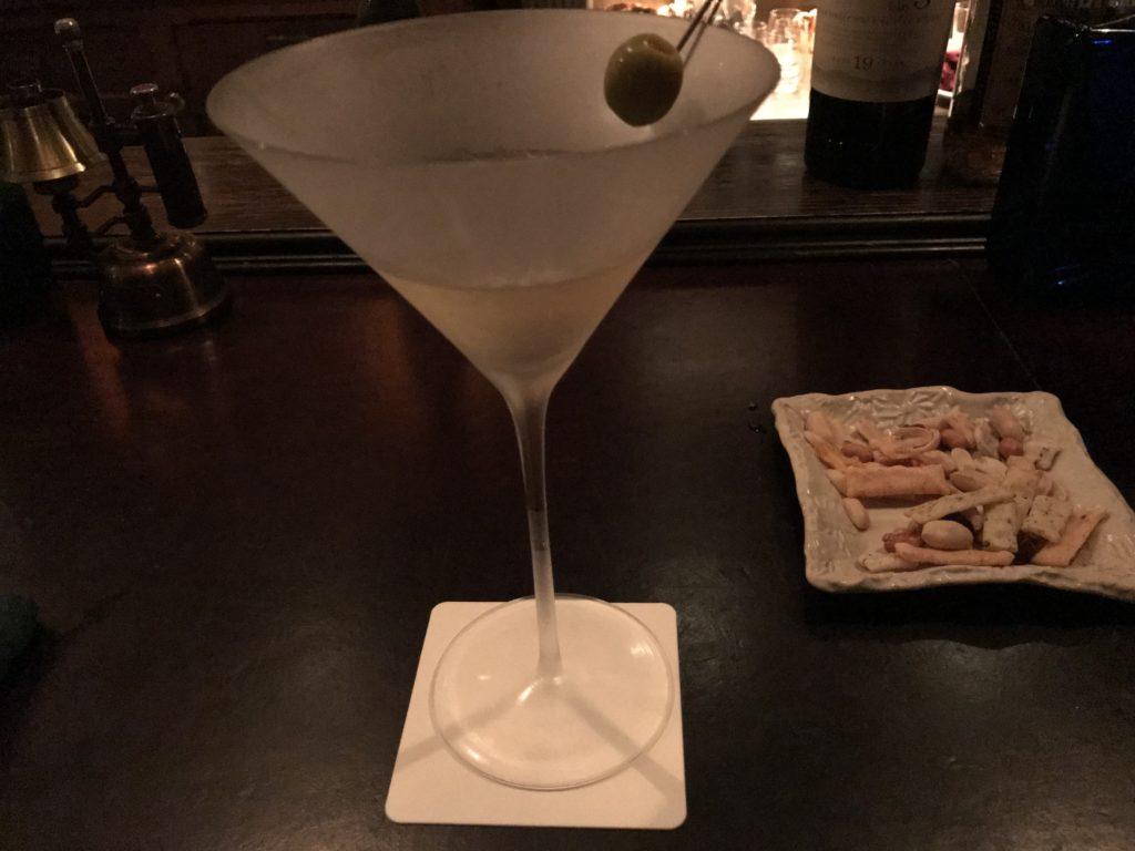 LAMP BAR「吟醸ベルモットのマティーニ」