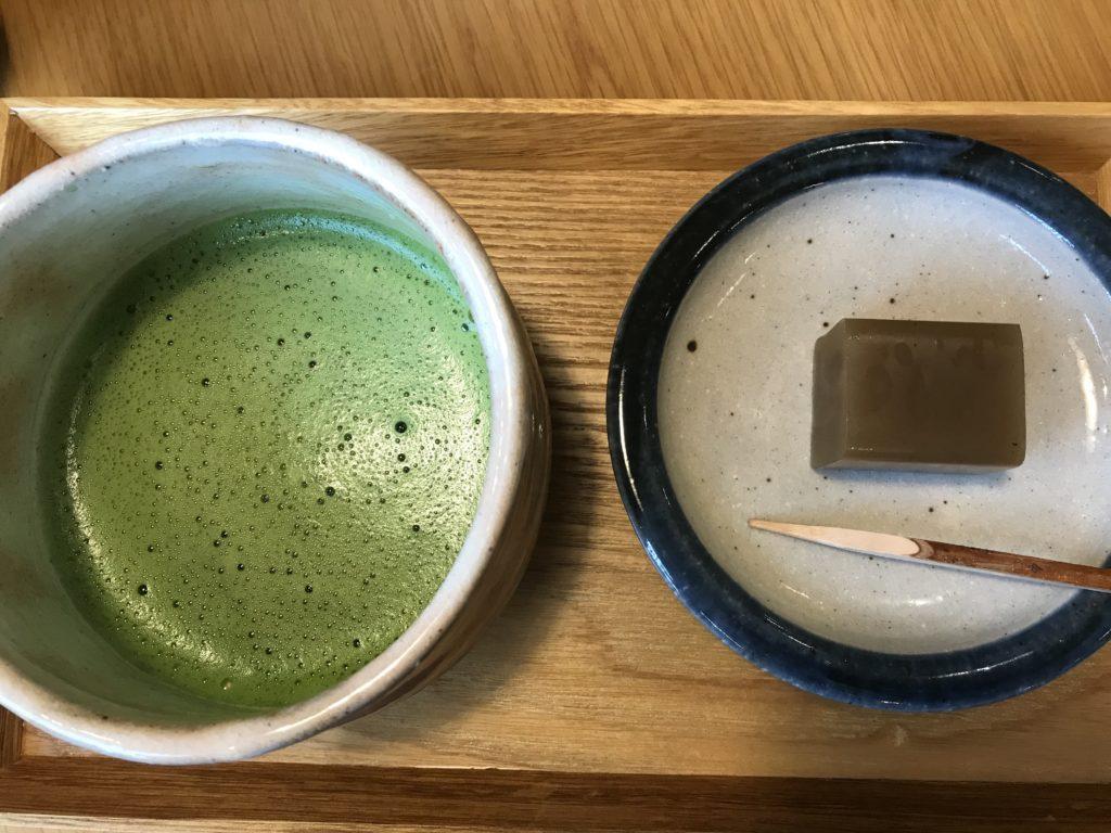 竹風堂のお抹茶