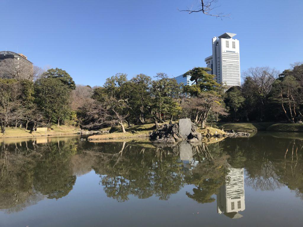 小石川後楽園の庭園