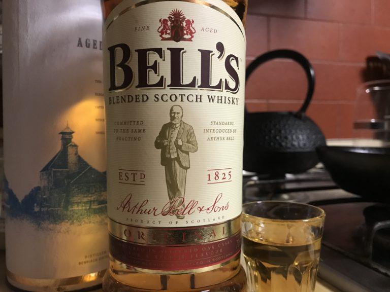 ブレンデッドウイスキーのベル