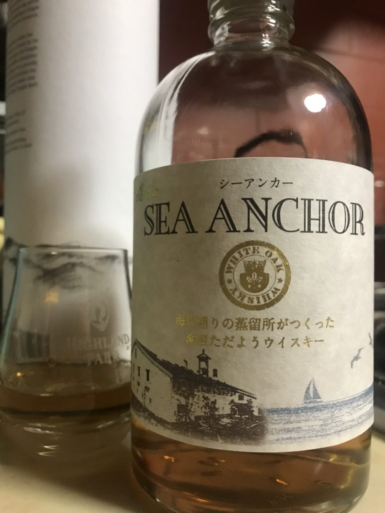 江井ヶ嶋酒造 ホワイトオーク シーアンカーをテイスティング