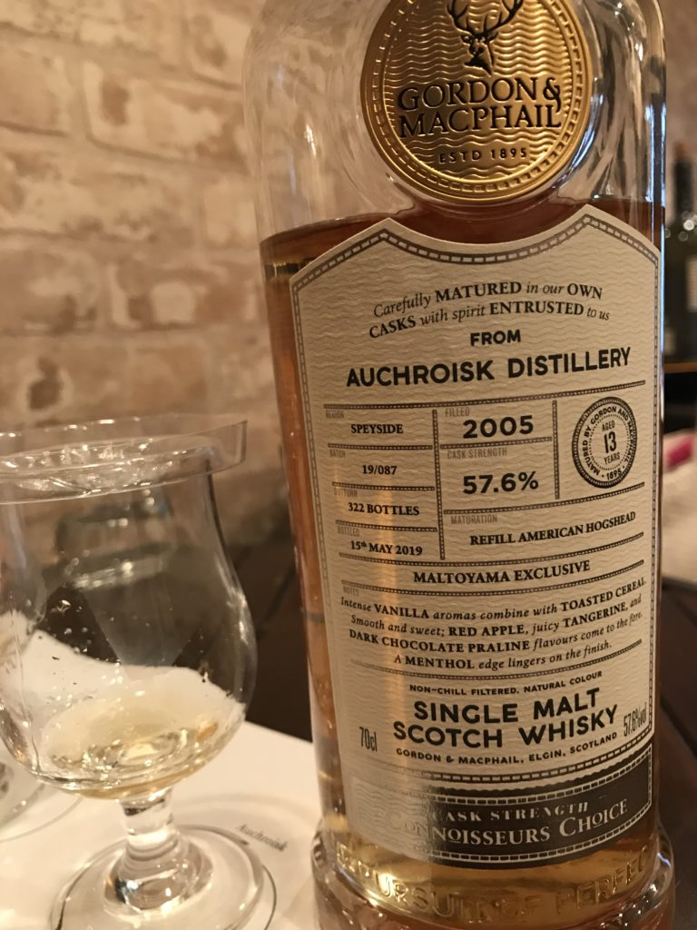 オスロスク(Auchroisk)2005-2019 13y 57.6% GM/Connoisseurs Choice MALTOYAMA EXCLUSIVE